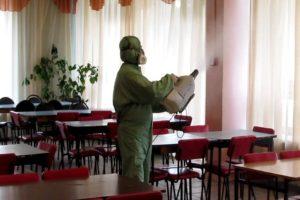 ДЕЗИНФЕКЦИЯ ТОЧЕК ОБЩЕПИТА В Кулебаках